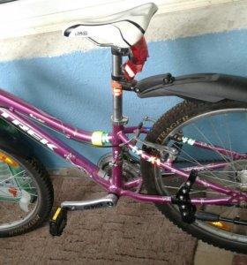 Велосипед подростковый trek mt220
