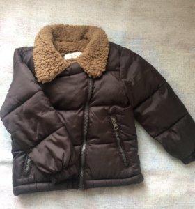 Куртка ZARA на 1,5-2г