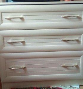 Угловой шкаф, комод+модуль для хранения вещей