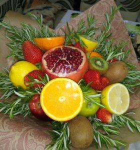Делаю съедобные букеты из фруктов и овощей!!