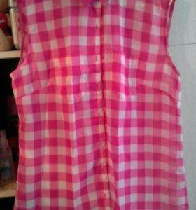 Легкая новая блузка раз 46