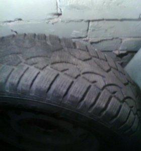 Комплект колёс зима на УАЗ