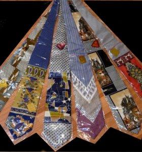 Мужские галстуки-шёле