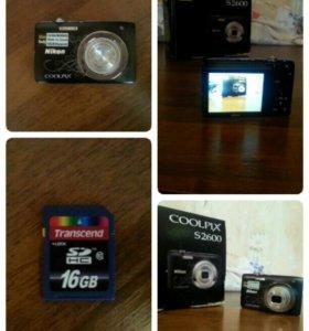 Фотоаппарат Nikon COOLPIX S2600