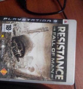 Игра на ps3 resistance
