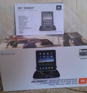Док Станция JBL On Beat iPad/iPhone/iPod (чёрная)