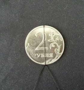 Монета с углом поворота