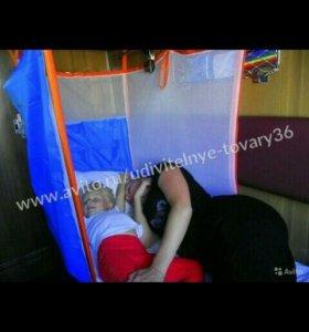 Детский манеж в поезд