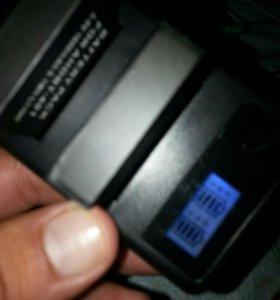 Зарядное устройство с двумя батареями