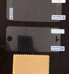 Комплект Защитных плёнок на iPhone 5,5s