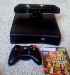 XBOX 360slim +Kinect