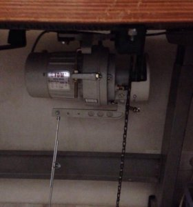 Промышленная плоскошевная машина, в сборе стол мот