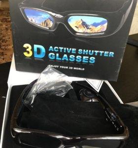 3-D очки (gams/photos/tv)новые