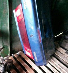 на ваз 2115 Бампер и крышка багажника ваз 2115