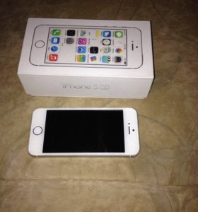 iPhone 5s Silver 32 гб