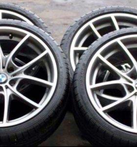 Колеса BMW Диски BMW стиль 356 с резиной Dunlop
