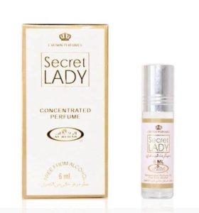 Арабские масляные духи Secret Lady .