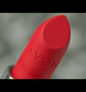 Помада Avon Матовое превосходсво. Ruby kiss
