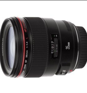 Объектив Canon 35 мм 1,4 L
