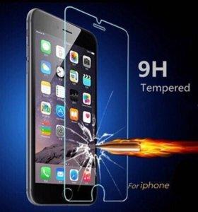Защитные стекла на IPhone.