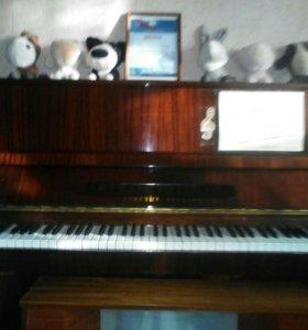 Фортепиано Красный октябрь