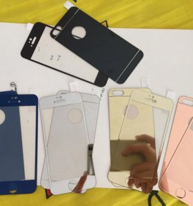 Зеркальные стекла на iPhone 5-5s