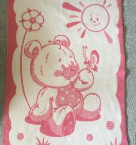 Шерстяное одеяло детское