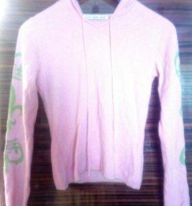 Новый кашемировый свитер худи FTC