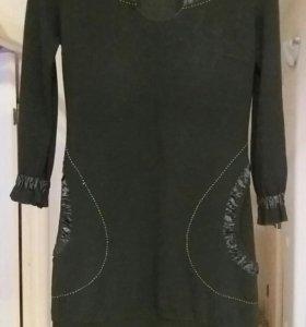 Платье теплое. Р-р 46/48.