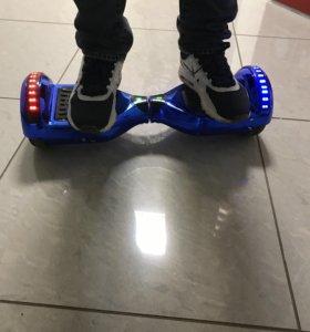 Гироскутер smart balance 6,5. Neon blue