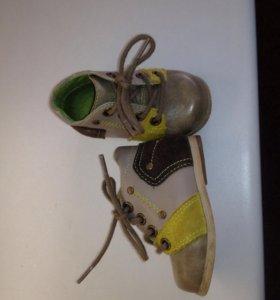 Ботиночки( натуральная кожа)