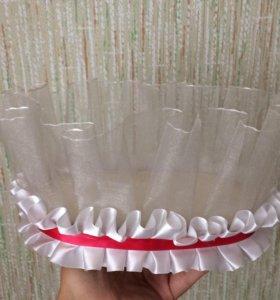 Свадебная подставка под бутылки