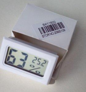 Термометр-гигрометр электронный