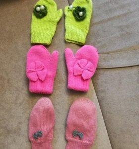 Перчатки,зима