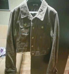 Куртка джинсовая, короткая