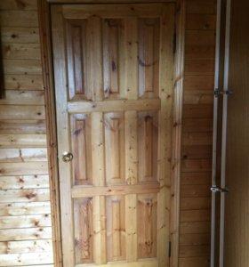 Двери межкомнатные б/у ( 8 штук)