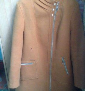Пальто женское большой размер!