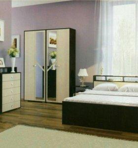 Спальный гарнитур Соломея Венге