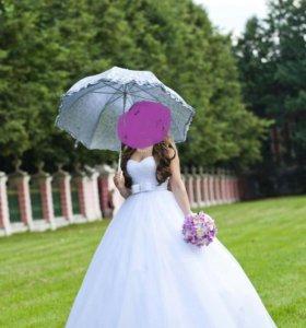 Свадебное платье размер +-42