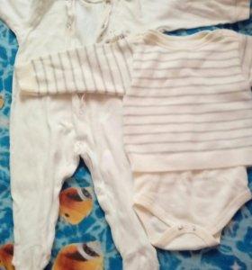 Детские вещи на мальчика от 6 месяцев до 1,5