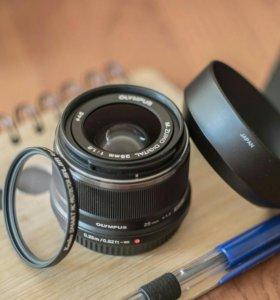 Объектив Olympus 25mm 1.8 MFT