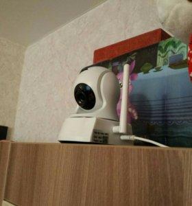 Видеокамера WI FI управление с телефона