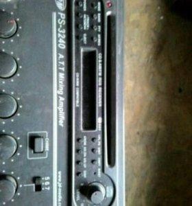 Микшер-усилитель JDM PS-3240