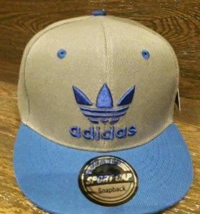 Кепка Adidas Серый с голубым
