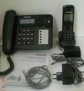 Радиотелефон+ стационар Panasonic KX-TG6451RU