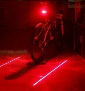 Новый фонарь с лазером