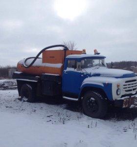 ЗиЛ-130 Бензавоз-заправчик