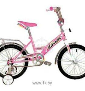 Велосипед LARSEN KIDS 16 GIRL(розовый)