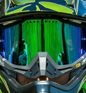 Маска 100% Racecraft Monster Energy Replica LE
