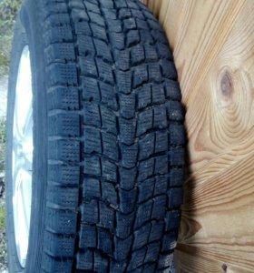 Зимние шины на литых дисках комплект